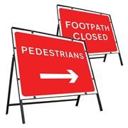Clipped Metal Road Signs - 600 x 450mm