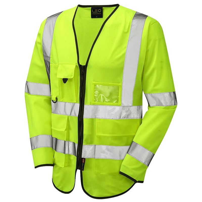 Yellow Wrafton Superior Sleeved Jerkin (X/Small) S12-Y