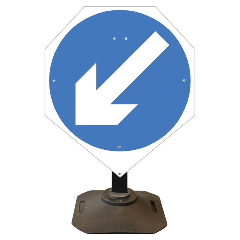 Louis Keep Left Sign - 750mm